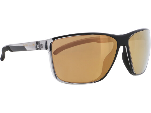 Red Bull SPECT Drift Lunettes de soleil Homme, x'tal grey/brown with bronze mirror polarized